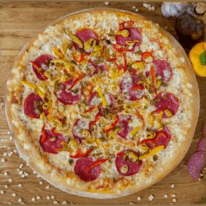 Pizza Ostra w Slice of Heaven